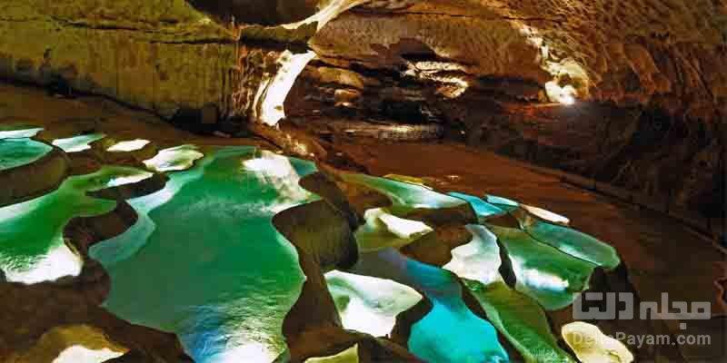 غار سنت مارسل در فرانسه