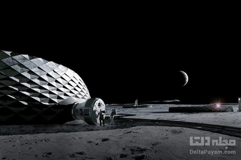 زیستگاه انسانی ماه