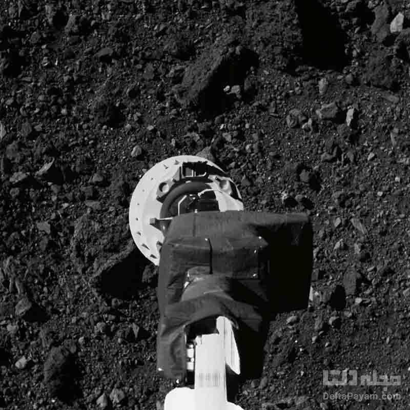 نمونه برداری توسط فضاپیمای اسیریس رکس ناسا