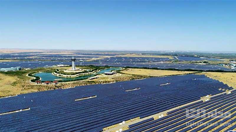 سایت انرژی خورشیدی چین