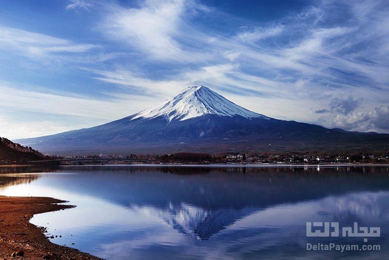 تماشای کوه فوجی