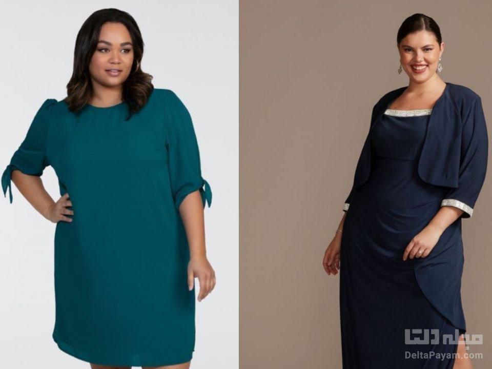 خانم هایی با بالاتنه بزرگ چه بپوشند آستین