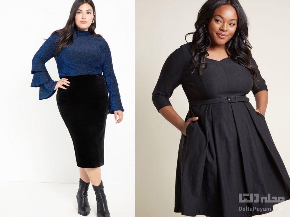 خانم هایی با بالاتنه بزرگ چه بپوشند رنگ خنثی