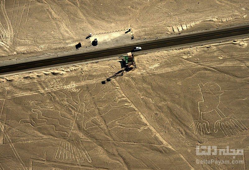 خطوط نازکا در دل صحرای پرو