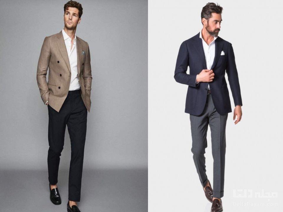 ست کردن لباس محیط کار مردانه نیمه رسمی