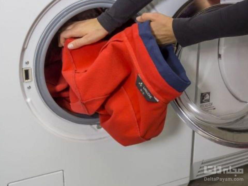 شستشو لباس های ضدآب ماشین لباسشویی