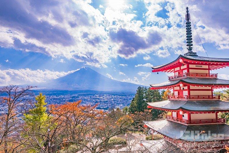 معابد سِنگِن فوجی کوه فوجی ژاپن