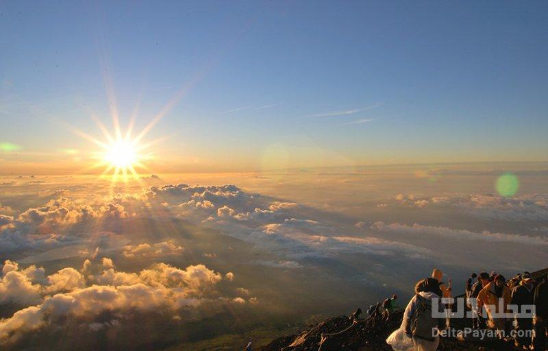 کوهنوردی در فوجی