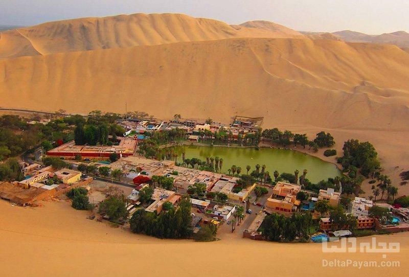 کویر ایکا از عجایب کشور پرو