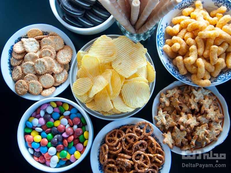 مصرف غذاهای فرآوری شده