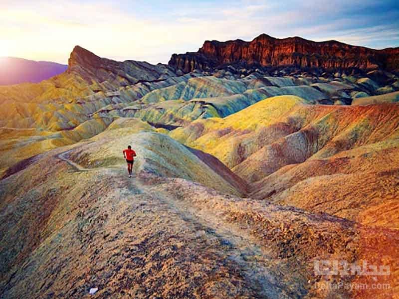 تپه های رنگی در اورگن