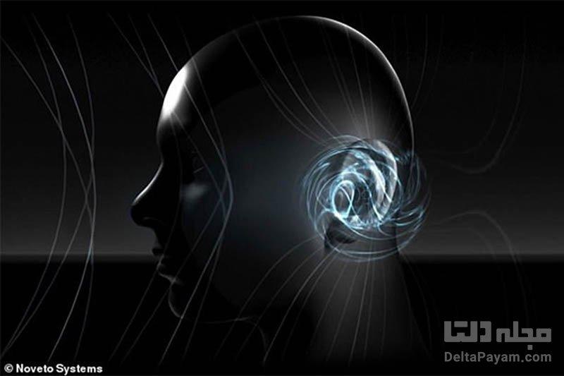 دستگاه پخش موسیقی در سر
