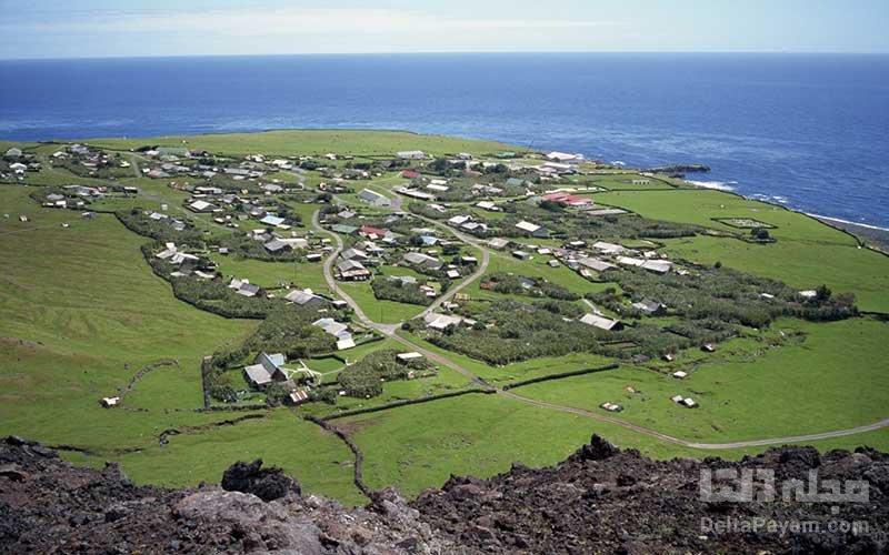 جزیره تریستان جزیره مسکونی