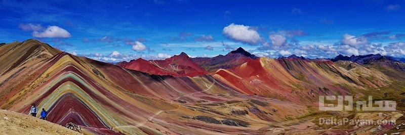 کوه های رنگین کمان پرو