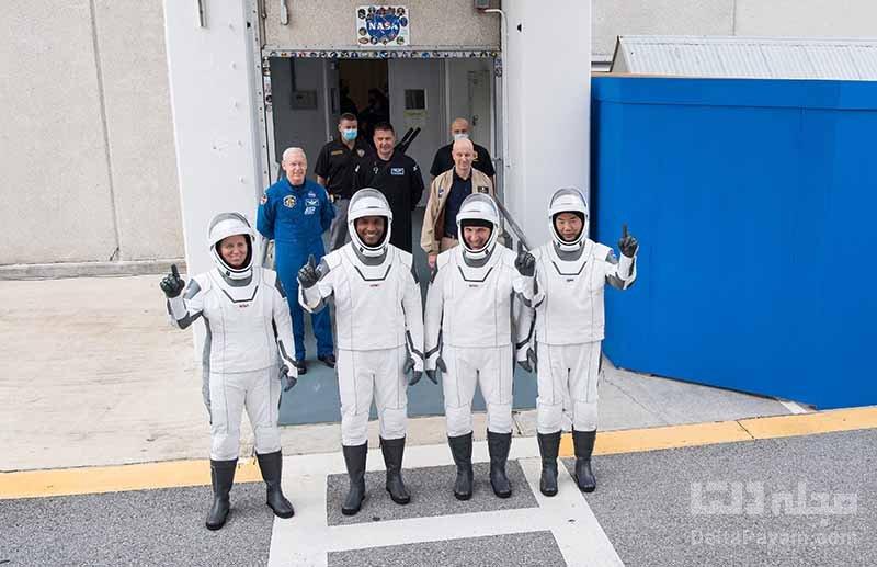 فضانوردان دراگون اسپیس ایکس