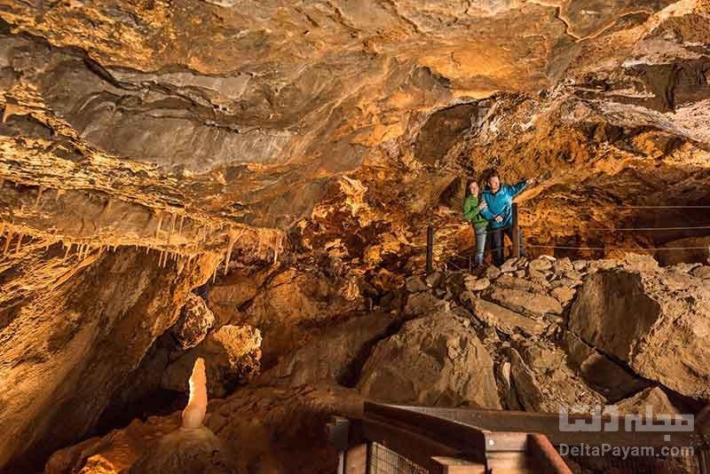 نفوذ به غارهای وحشت انگیز