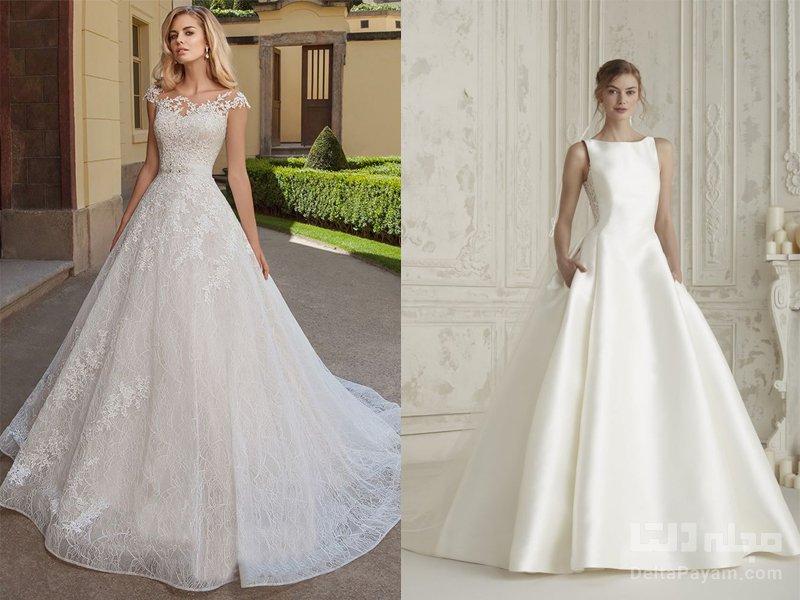A-line راهنمای انتخاب لباس عروس