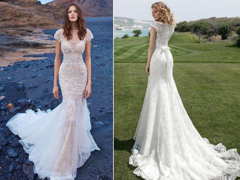 Fishtail راهنمای انتخاب لباس عروس