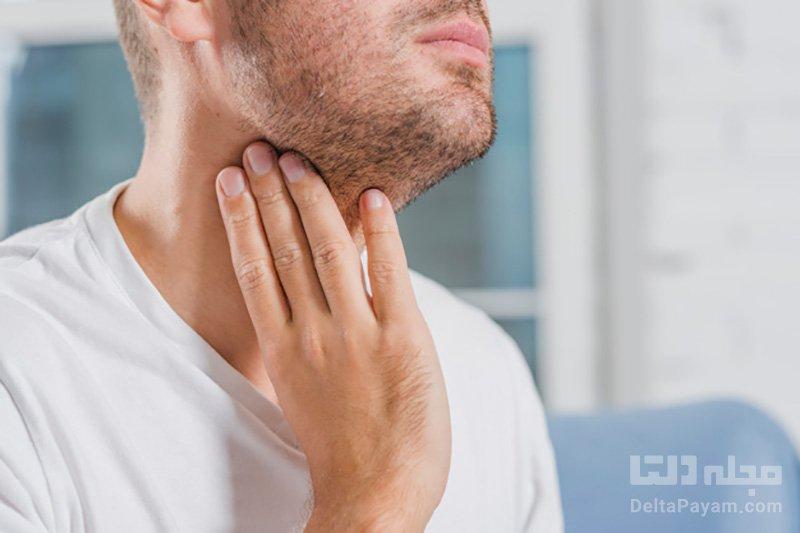 درمان خانگی گلو درد