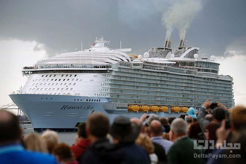 بزرگترین کشتی تفریحی دنیا