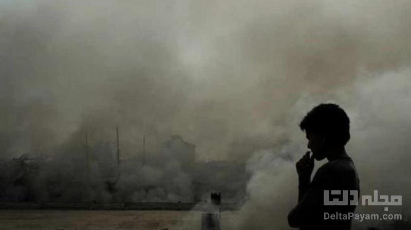 آلودگی شهرهای چین و آیفون 12