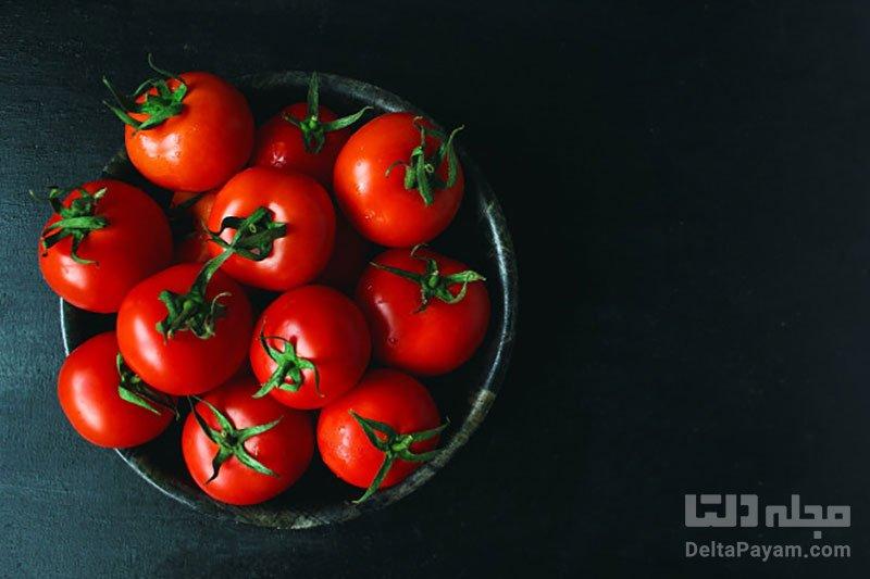 فواید گوجه فرنگی