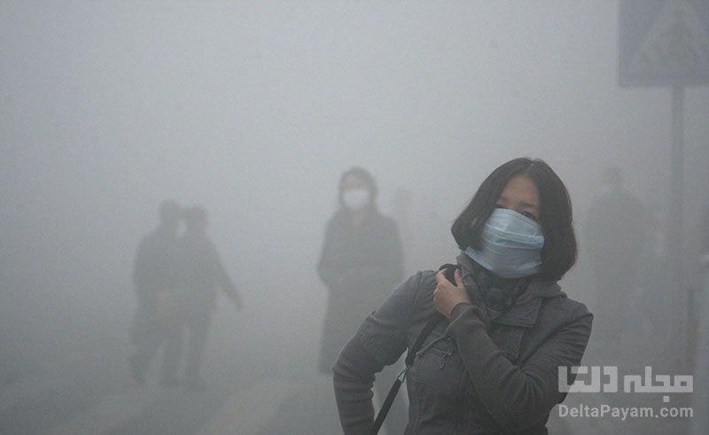 آلودگی شهرهای چین