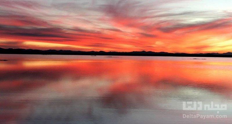 دریاچه آب شور