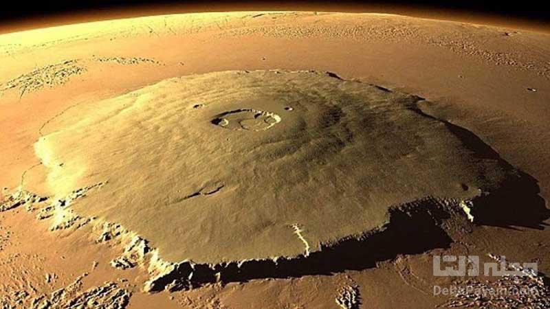 کوه المپوس سیاره مریخ