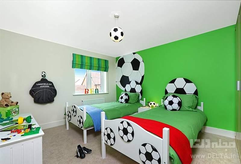 تزیین اتاق پسرانه