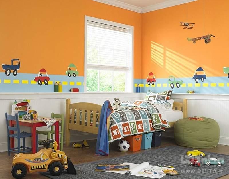 دیزاین اتاقِ کودک