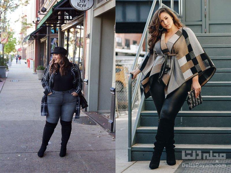 انتخاب لباس سایز بزرگ شلوار