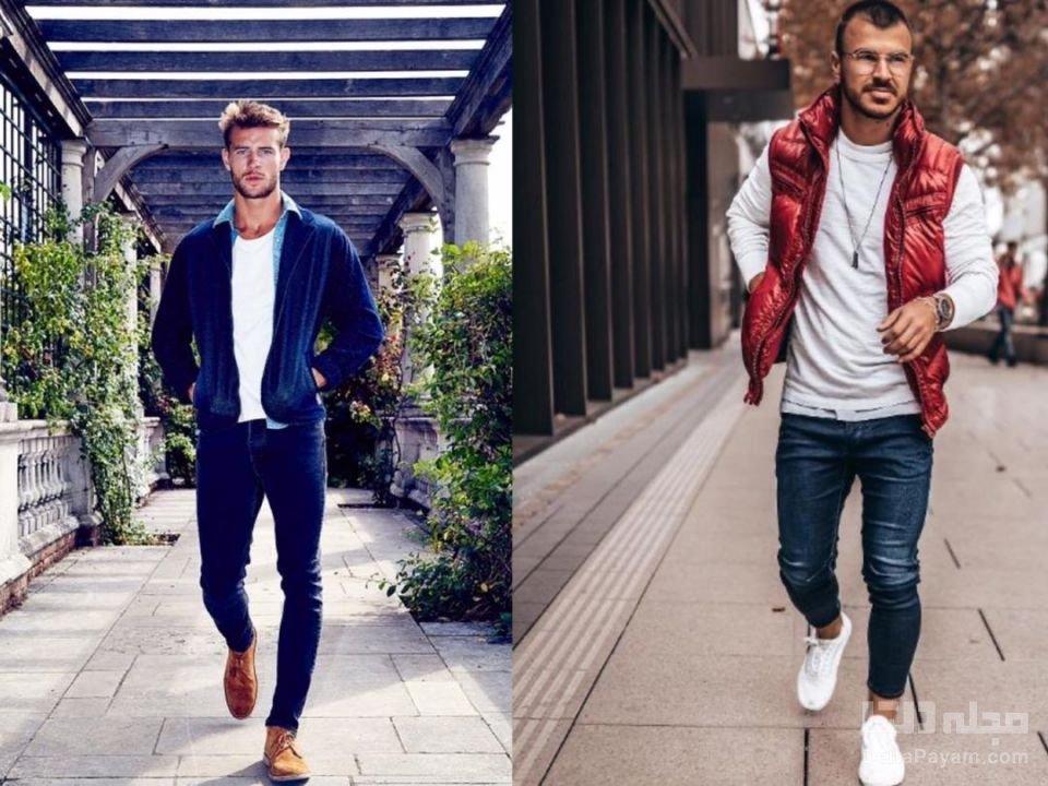 خرید شلوار جین مردانه جذب