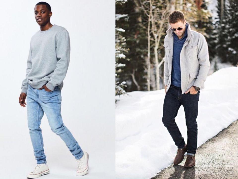 خرید شلوار جین مردانه رنگ
