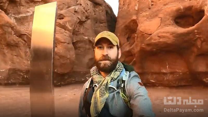 بازدید از ستون اسرارآمیز صحرای یوتا