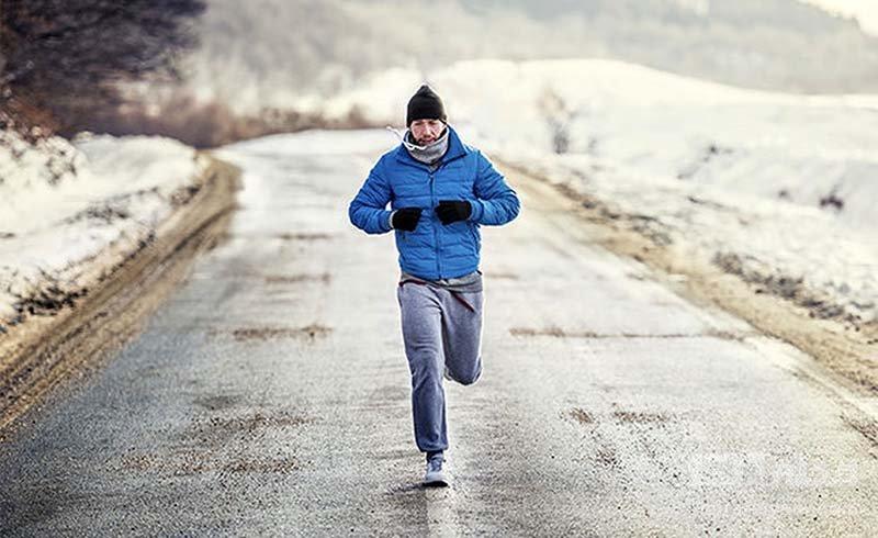 ورزش در سرما شما را لاغر می کند