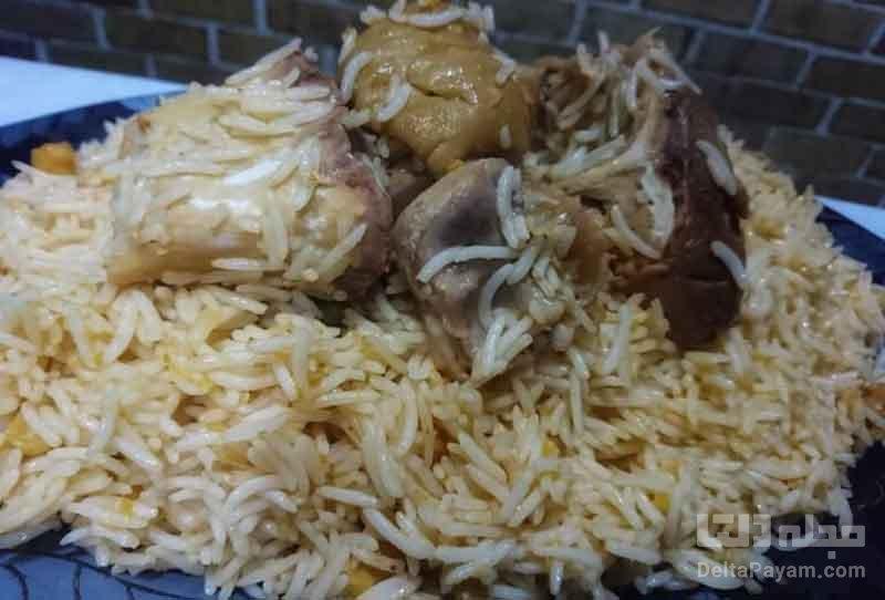 طرز تهیه کله پاچه پلو شیرازی