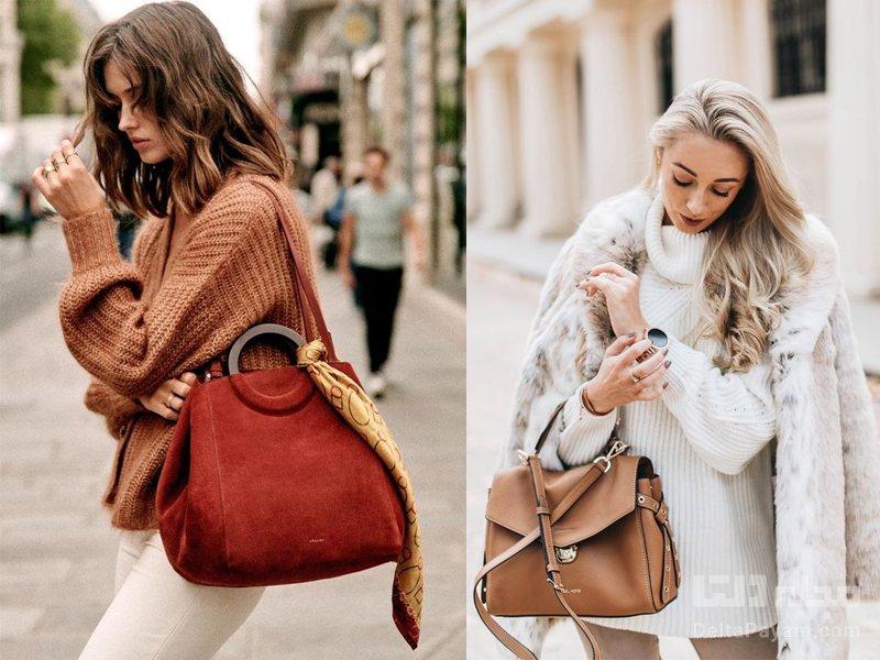کیف دستی زنانه برای پاییز سایز بزرگ