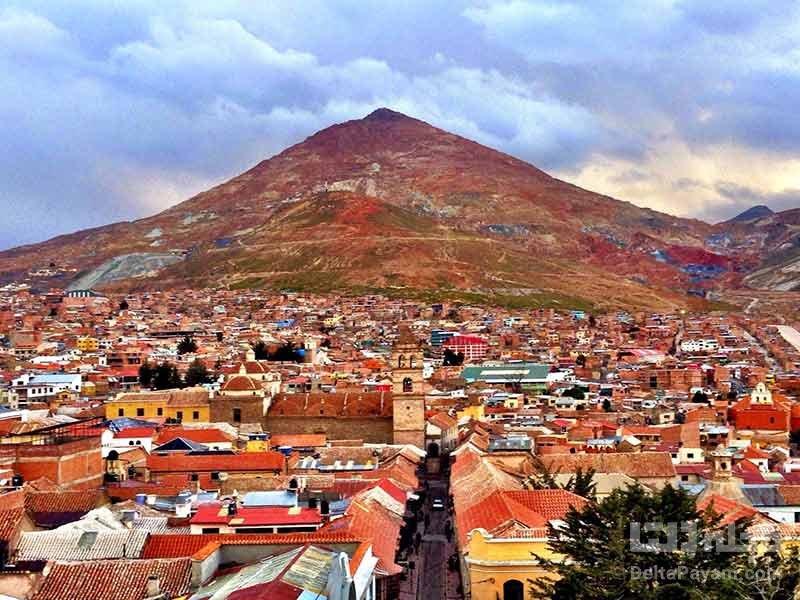 کوه سرو ریکو در بولیوی
