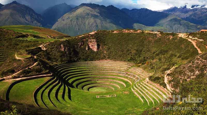 تراس های مورای در پرو