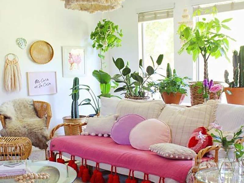 ترکیب رنگ در منزل