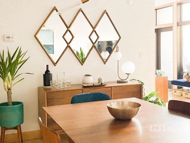 انواع آینه دیواری