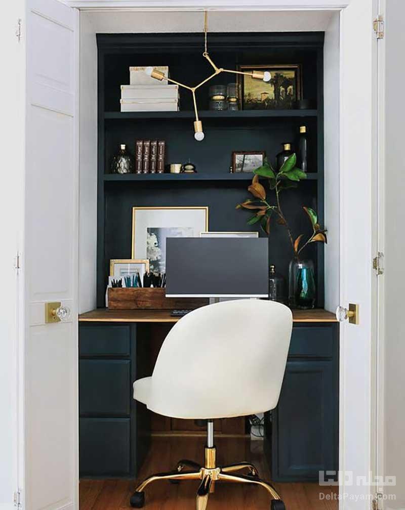 دفتر کار خانگی کوچک