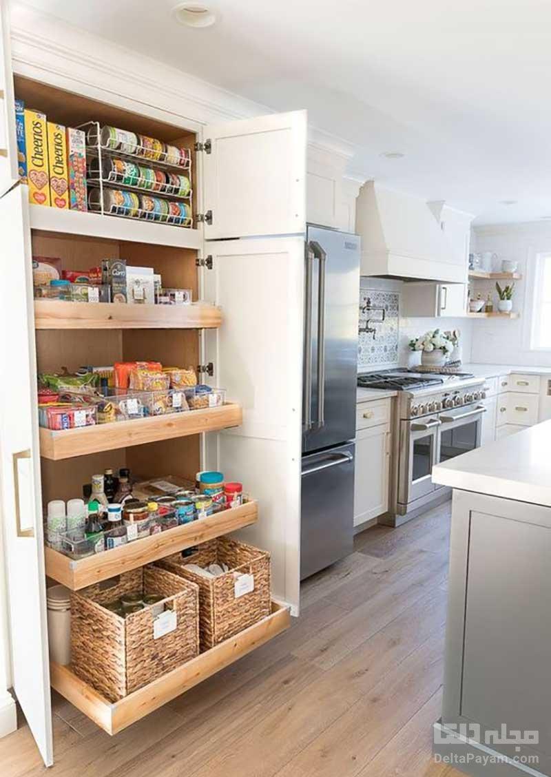 کابینت های آشپزخانه کوچک