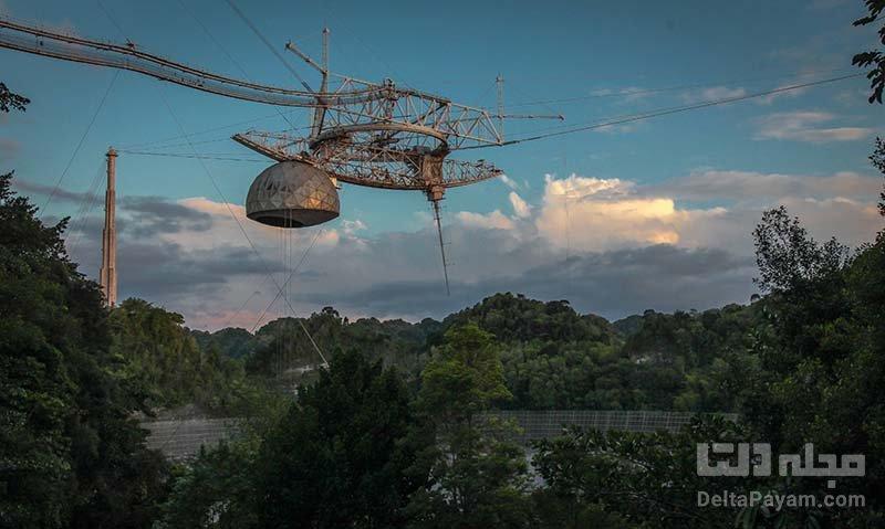 تخریب رصدخانه مشهور آرسیبو