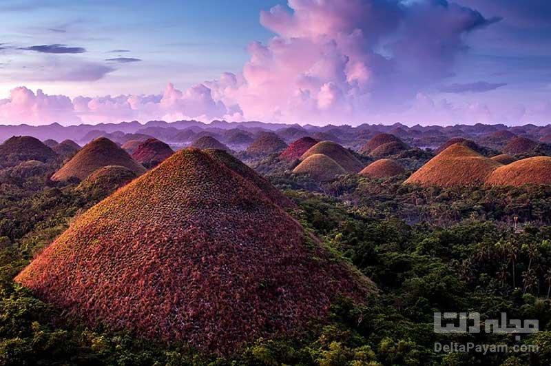 تپه های شکلاتی فیلیپین
