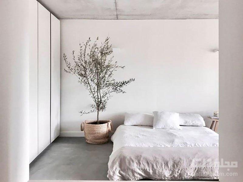 اتاق خواب سبک مینیمال