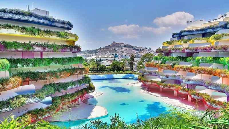 مناظر زیبای جاذبه های گردشگری ایبیزا