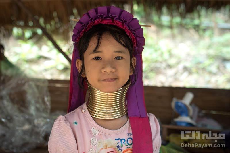 روستاهای گردن درازان کارن در تایلند