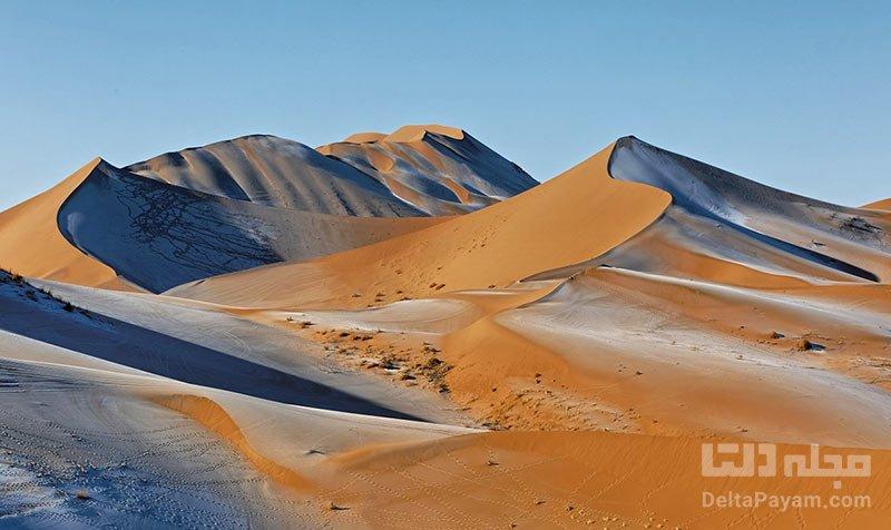بزرگترین تپه های شنی ثابت جهان